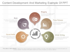 Content Development And Marketing Example Of Ppt