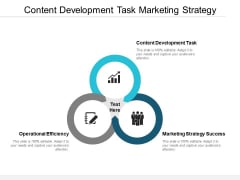 Content Development Task Marketing Strategy Success Operational Efficiency Ppt PowerPoint Presentation Slides Structure