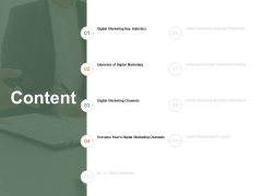 Content Digital Marketing Ppt Powerpoint Presentation Styles Graphics Download