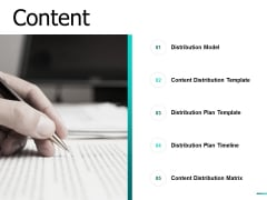 Content Distribution Ppt PowerPoint Presentation Inspiration Ideas
