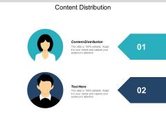 Content Distribution Ppt PowerPoint Presentation Slides Backgrounds Cpb