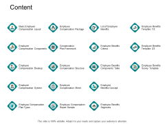 Content Employee Compensation System Ppt PowerPoint Presentation Infographics Icon