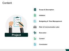 Content Execution Ppt PowerPoint Presentation Outline Vector