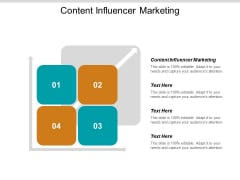 Content Influencer Marketing Ppt PowerPoint Presentation Portfolio Graphics Cpb