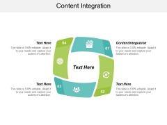 Content Integration Ppt PowerPoint Presentation Professional Slide Portrait Cpb