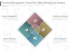 Content Management Powerpoint Slide Background Designs