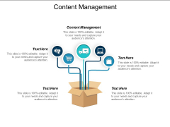Content Management Ppt PowerPoint Presentation Summary Cpb