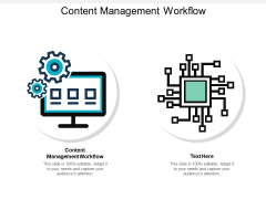 Content Management Workflow Ppt PowerPoint Presentation Show Microsoft Cpb
