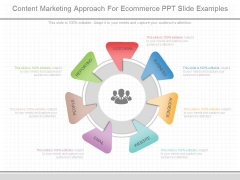 Content Marketing Approach For Ecommerce Ppt Slide Examples