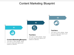 Content Marketing Blueprint Ppt PowerPoint Presentation Slides Icon Cpb