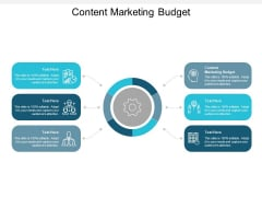 Content Marketing Budget Ppt PowerPoint Presentation Slides Introduction Cpb