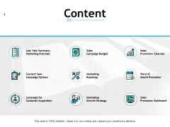 Content Marketing Business Ppt PowerPoint Presentation Icon Files
