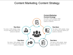 Content Marketing Content Strategy Ppt PowerPoint Presentation Summary Graphics Design Cpb