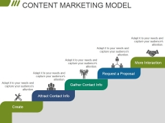 Content Marketing Model Ppt PowerPoint Presentation Styles Smartart