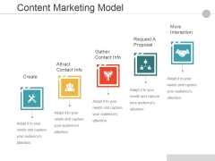 Content Marketing Model Ppt PowerPoint Presentation Summary Background Image