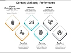 Content Marketing Performance Ppt PowerPoint Presentation Ideas Skills Cpb