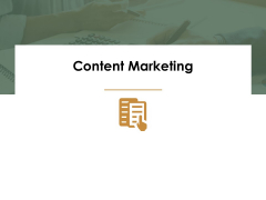 Content Marketing Ppt Powerpoint Presentation Introduction