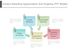 Content Marketing Segmentation And Targeting Ppt Model