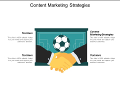 Content Marketing Strategies Ppt PowerPoint Presentation File Microsoft Cpb