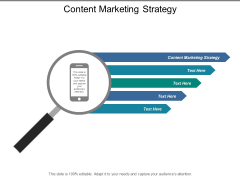 Content Marketing Strategy Ppt PowerPoint Presentation Portfolio Master Slide