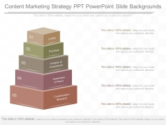 Content Marketing Strategy Ppt Powerpoint Slide Backgrounds