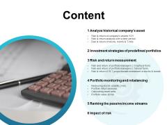 Content Measurement Ppt PowerPoint Presentation Slides Information