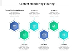 Content Monitoring Filtering Ppt PowerPoint Presentation Deck Cpb Pdf