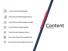 Content Online Payment Ppt PowerPoint Presentation Layouts Deck