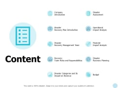 Content Operational Impact Analysis Ppt PowerPoint Presentation Inspiration Shapes