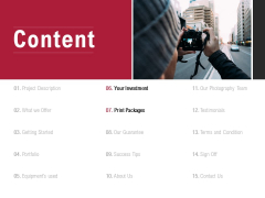 Content Planning Print Packages Ppt PowerPoint Presentation Outline Graphic Images