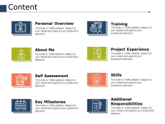 Content Ppt PowerPoint Presentation Infographic Template Grid