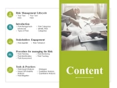 Content Ppt PowerPoint Presentation Summary Demonstration