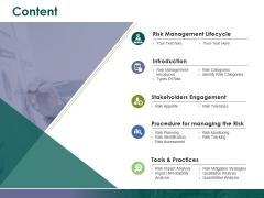 Content Ppt PowerPoint Presentation Summary Designs