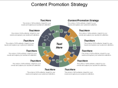 Content Promotion Strategy Ppt PowerPoint Presentation Model Skills Cpb