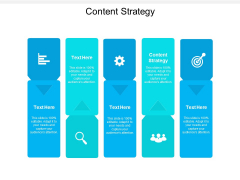 Content Strategy Ppt PowerPoint Presentation Portfolio Files Cpb