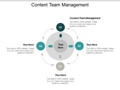 Content Team Management Ppt Powerpoint Presentation Infographics Design Templates Cpb