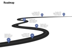 Content Writing For Website Proposal Roadmap Ppt Show Format Ideas PDF