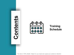 Contents Slide Marketing Management Ppt PowerPoint Presentation Images