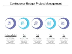 Contingency Budget Project Management Ppt PowerPoint Presentation Pictures Sample Cpb