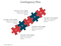 Contingency Plan Ppt PowerPoint Presentation Template