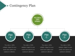 Contingency Plan Template 1 Ppt PowerPoint Presentation Design Ideas
