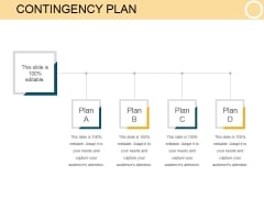 Contingency Plan Template 1 Ppt PowerPoint Presentation Microsoft