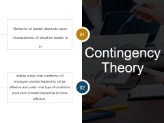 Contingency Theory Ppt PowerPoint Presentation Topics