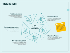 Continual Improvement Model TQM Model Ppt Slides Example PDF