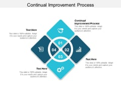 Continual Improvement Process Ppt PowerPoint Presentation Icon Gridlines Cpb