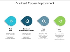 Continual Process Improvement Ppt PowerPoint Presentation Outline Professional Cpb