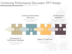 Continuing Performance Discussion Ppt Design