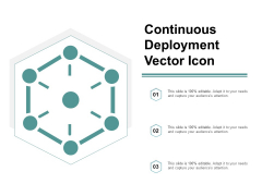 Continuous Deployment Vector Icon Ppt Powerpoint Presentation Summary Graphics Pictures