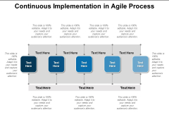 Continuous Implementation In Agile Process Ppt PowerPoint Presentation Icon Example Topics PDF