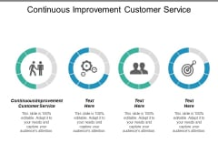 Continuous Improvement Customer Service Ppt PowerPoint Presentation Inspiration Graphics Pictures